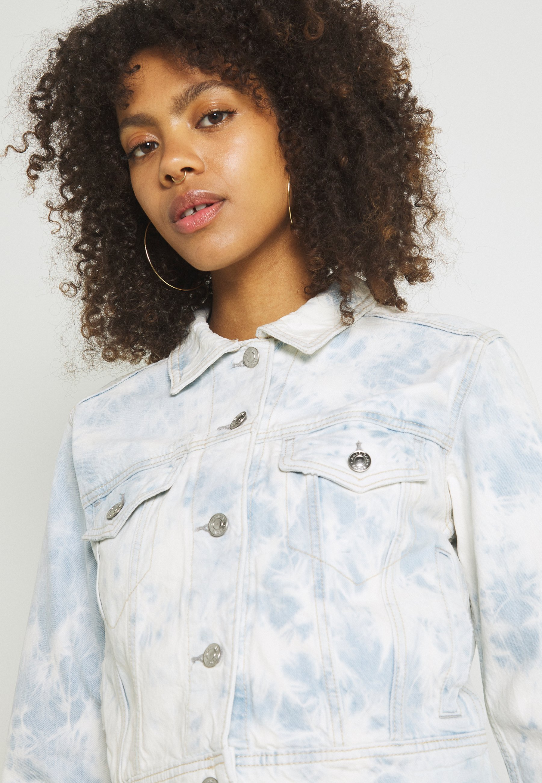 Donna SHRUNKEN CLASSIC DENIM - Giacca di jeans