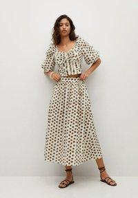Mango - A-line skirt - offwhite - 1