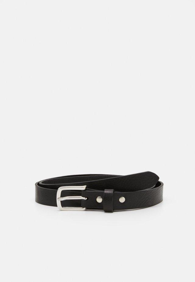 BASIC BELT - Cinturón - black
