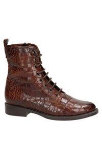 Nelson - Lace-up ankle boots - cognac - 5