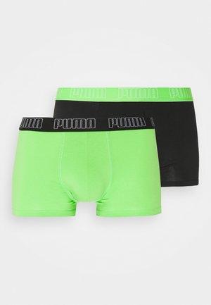 BASIC TRUNK 2 PACK - Culotte - green flash/black