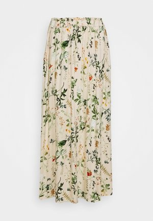 OBJALBA LONG SKIRT - Maxi skirt - multi coloured