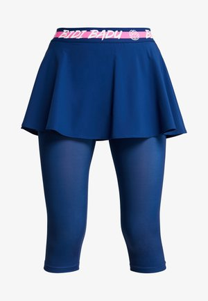 FAIDA TECH SCAPRI - Leggings - dark blue/pink