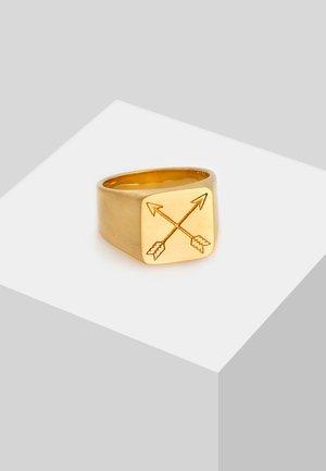 MATT BASIC PFEIL - Ring - gold