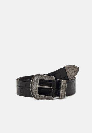 WESTERN TIP DRESS CASUAL MEDIUM - Belt - black