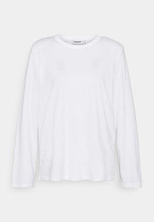 KAI LONG SLEEVE - Long sleeved top - white