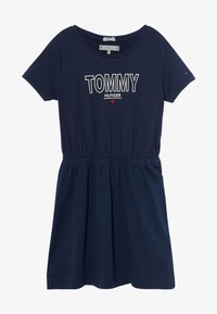 Tommy Hilfiger - TEE DRESS  - Robe en jersey - blue - 2