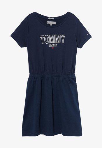 TEE DRESS  - Vestito di maglina - blue