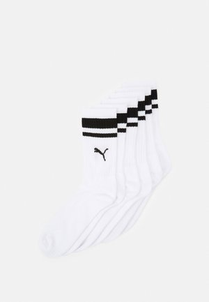 CREW HERITAGE UNISEX 6 PACK - Sports socks - white