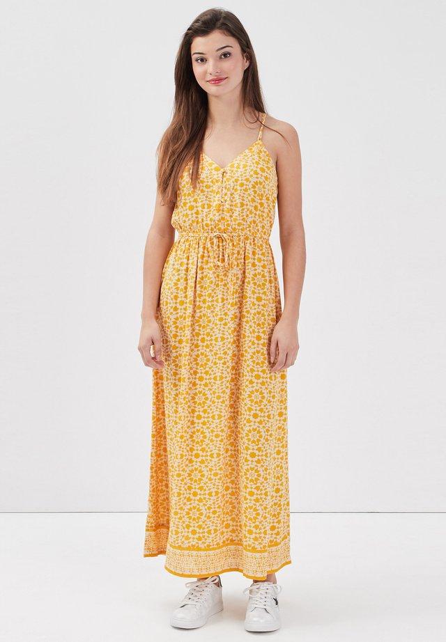 Maxi-jurk - jaune