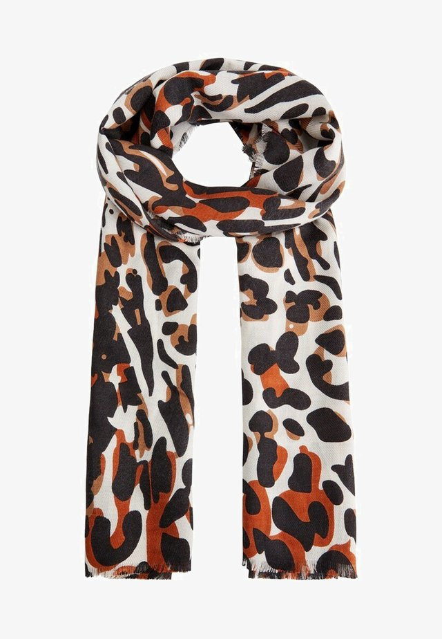 LEOPARD - Halsduk - brown