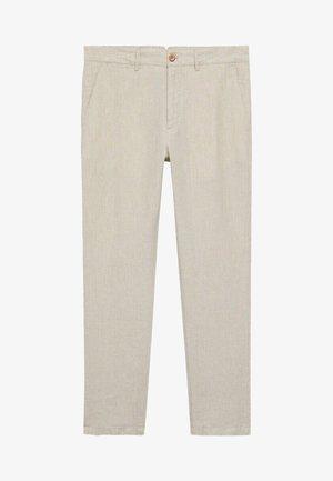 OYSTER - Pantalones chinos - écru