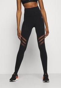 adidas by Stella McCartney - TRUESTR - Leggings - black - 0