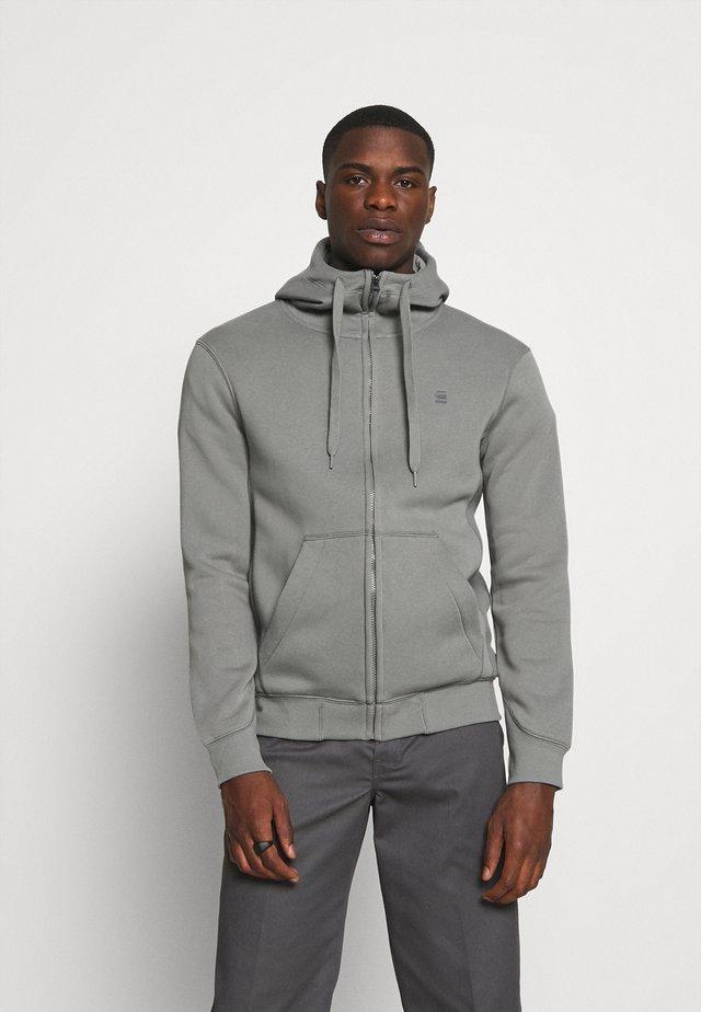 PREMIUM CORE ZIP - Zip-up sweatshirt - charcoal