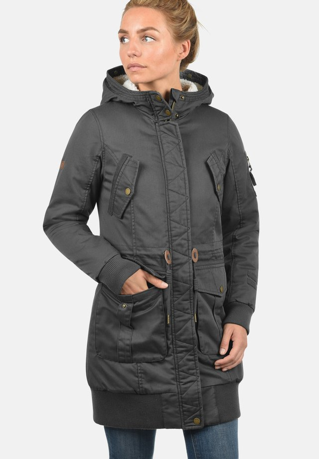 Parka - dark grey