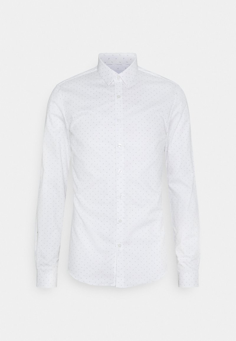 Calvin Klein Tailored - NATURAL EXTRA SLIM - Formal shirt - light blue