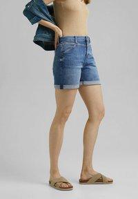 Esprit - Denim shorts - blue medium washed - 3