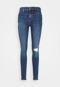 River Island Tall - Jeans Skinny Fit - blue denim - 3