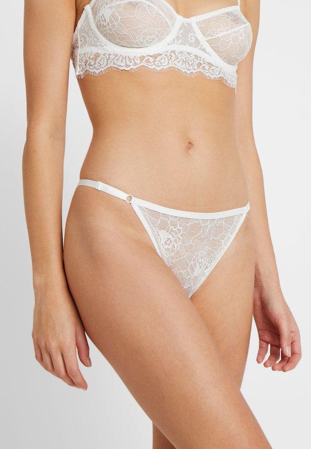 ANDREA BRIEF - Slip - white