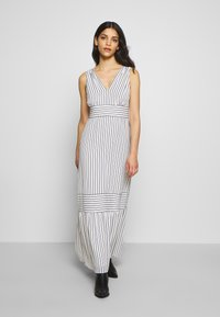 Lauren Ralph Lauren Petite - DANIKA SLEEVELESS DAY DRESS - Maxi dress - cream/navy - 0