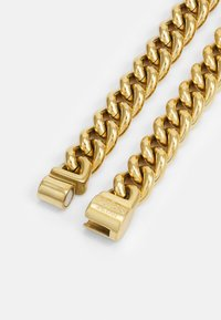 Guess - CURB ROUND UNISEX - Necklace - gold-coloured - 1
