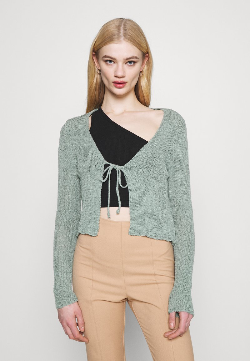 Trendyol - GÜL KURUSU - Cardigan - mint