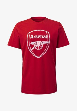 ARSENAL DNA GRAPHIC T-SHIRT - Fanartikel - red