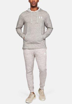 SPORTSTYLE TERRY HOODIE - Hoodie - mottled light grey