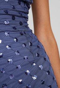 Little Mistress - ANAÏS SEQUIN MIDI BODYCON DRESS - Koktejlové šaty/ šaty na párty - lavender grey - 6