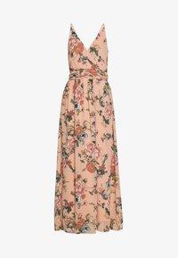 Vero Moda - VMSUNILLA DRESS - Długa sukienka - mahogany - 3