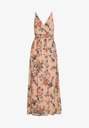 VMSUNILLA DRESS - Maxi-jurk - mahogany