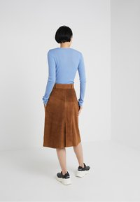 2nd Day - ANGIE - A-line skirt - brown - 2