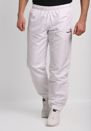 CARSON  - Tracksuit bottoms - blanc/ anthracite