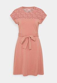 ONLY - ONLBILLA DRESS - Jersey dress - old rose - 5