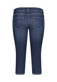 MAC Jeans - GRETA - Denim shorts - blueblack - 3
