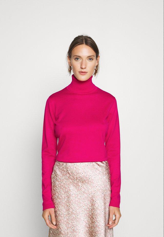 SRMarla Rollneck - Neule - pink peacock