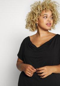 Anna Field Curvy - Print T-shirt - black - 3