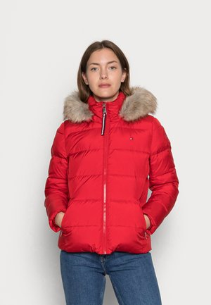 BAFFLE DOWN BOXY  - Down jacket - primary red