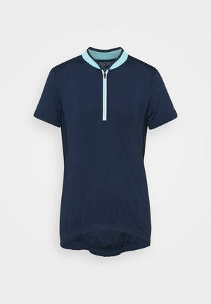 WOMAN BIKE - Basic T-shirt - blue