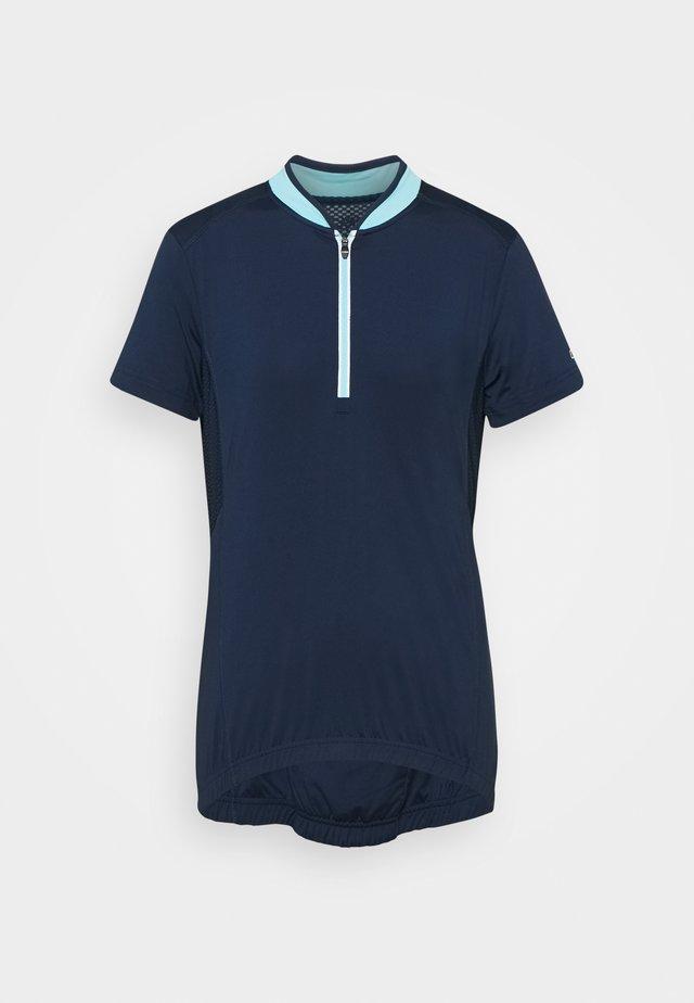 WOMAN BIKE - T-shirt basic - blue
