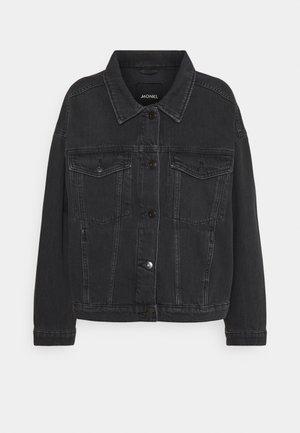 BONNIE JACKET - Džínová bunda - black dark