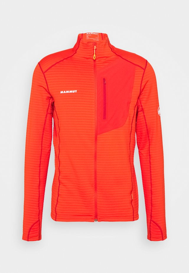 ACONCAGUA LIGHT JACKET MEN - Fleecejacka - spicy