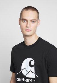 Carhartt WIP - OUTDOOR  - Print T-shirt - black/white - 3