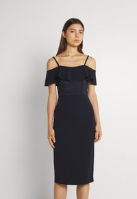 WAL G. - EMAAN MIDI DRESS - Cocktail dress / Party dress - navy blue - 0
