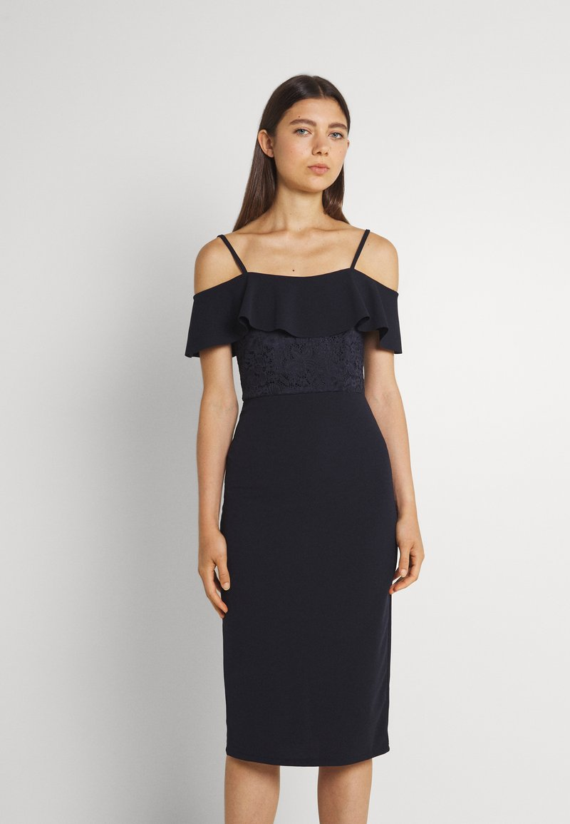 WAL G. - EMAAN MIDI DRESS - Cocktail dress / Party dress - navy blue