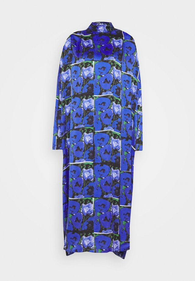 SARA PRINT - Robe d'été - blue