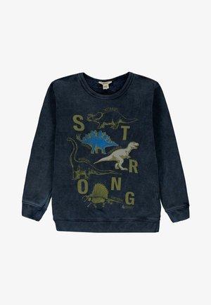 Sweater - blue dark washed