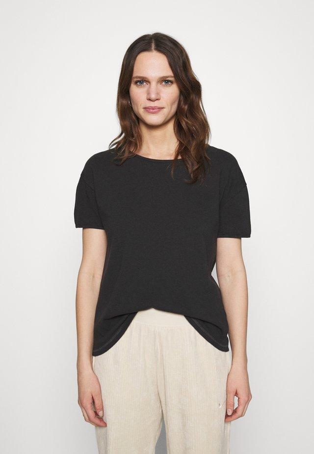 RITASUN - T-shirt basic - carbone