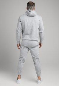 SIKSILK - SIKSILK ZIP THROUGH FUNNEL NECK HOODIE - Felpa aperta - grey marl - 2