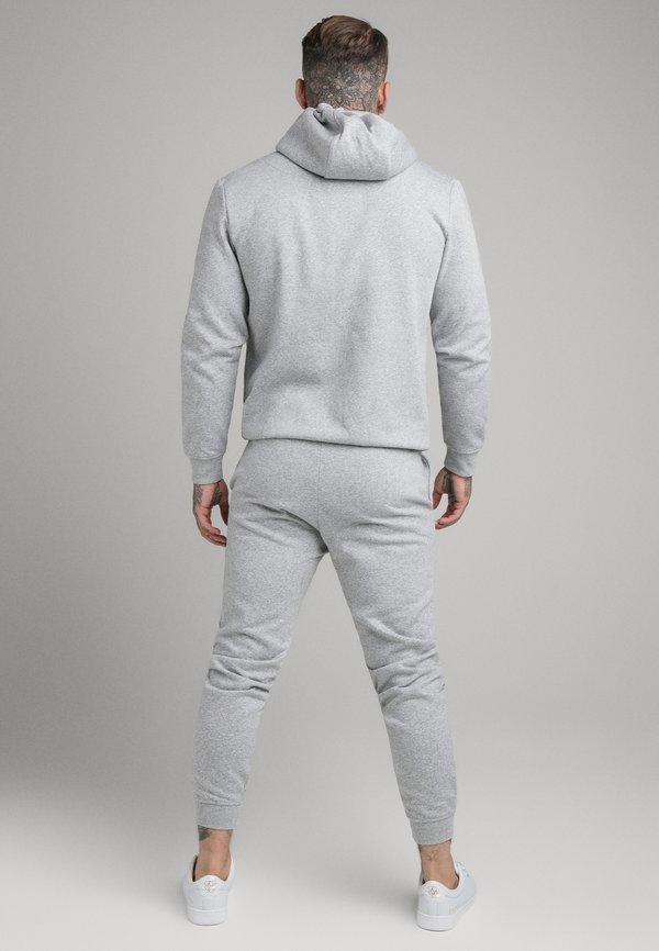 SIKSILK SIKSILK ZIP THROUGH FUNNEL NECK HOODIE - Bluza rozpinana - grey marl/szary melanż Odzież Męska UANV